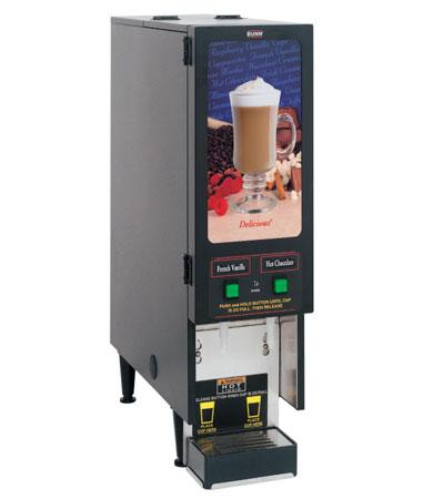 Instant Powdered Hot Beverage Dispensers